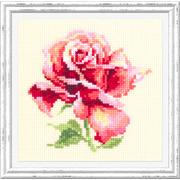 """Набор для вышивания крестом Чудесная игла """"Прекрасная роза"""""""