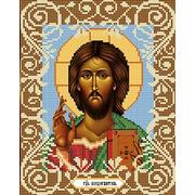 """Ткань с рисунком для вышивки бисером Божья коровка """"Господь Вседержитель"""""""