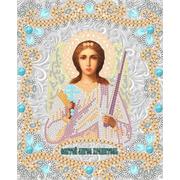 """Ткань с рисунком для вышивки бисером Конёк """"Ангел Хранитель"""""""