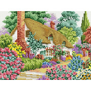 """Набор для выкладывания мозаики Белоснежка """"Дом в саду"""""""