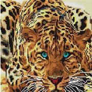 """Набор для выкладывания мозаики Белоснежка """"Леопард"""""""
