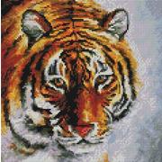"""Набор для выкладывания мозаики Белоснежка """"Тигр на снегу"""""""