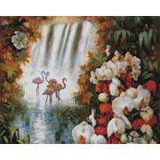 """Набор для выкладывания мозаики Белоснежка """"Райский сад"""""""