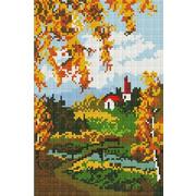 """Набор для выкладывания мозаики Белоснежка """"Осенний пейзаж"""""""