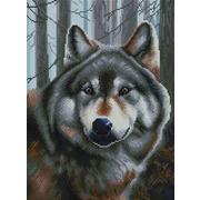 """Набор для выкладывания мозаики Белоснежка """"Волк"""""""