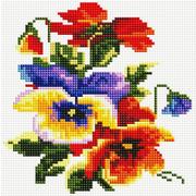 """Набор для выкладывания мозаики Белоснежка """"Цветочки"""""""