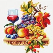 """Набор для выкладывания мозаики Белоснежка """"Натюрморт с виноградом"""""""