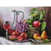 """Набор для выкладывания мозаики Белоснежка """"Натюрморт с фруктами"""""""