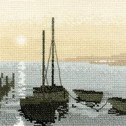 """Набор для вышивания крестом Heritage """"Гавань"""""""