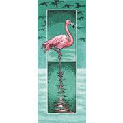 """Набор для вышивания крестом Heritage """"Фламинго"""""""