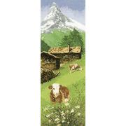 """Набор для вышивания крестом Heritage """"Альпийские луга"""""""