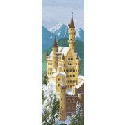 """Набор для вышивания крестом Heritage """"Замок Нойшванштайн"""""""