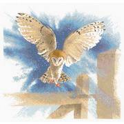 """Набор для вышивания крестом Heritage """"Сова в полёте"""""""