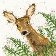 """Набор для вышивания крестом Bothy Threads """"Doe A Deer"""" (Олененок)"""