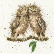 """Набор для вышивания крестом Bothy Threads """"Birds of a feather"""" (Птицы одного полёта)"""