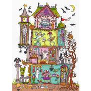 """Набор для вышивания крестом Bothy Threads """"Cut Thru' Haunted House"""" (Дом с привидениями)"""
