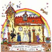 """Набор для вышивания крестом Bothy Threads """"Wedding"""" (Свадьба)"""