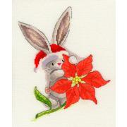 "Набор для вышивания крестом Bothy Threads ""Poinsettia"" (Пуансеттия)"