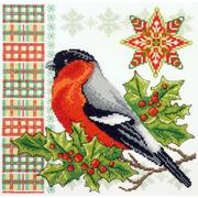 """Набор для вышивания крестом Марья искусница """"Новогодний снегирь"""""""