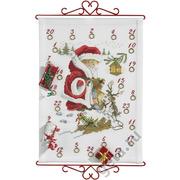 """Набор для вышивания крестом Eva Rosenstand """"Мальчик-Санта"""""""