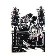 """Набор для вышивания крестом Eva Rosenstand """"Сюжет с зонтиком"""""""