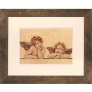 """Набор для вышивания крестом LANARTE """"Два ангела"""""""