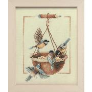 """Набор для вышивания крестом LANARTE """"Птички"""""""