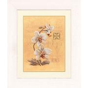 """Набор для вышивания крестом LANARTE """"Три орхидеи"""""""