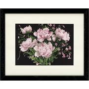 """Набор для вышивания крестом LANARTE """"Розовые розы"""""""