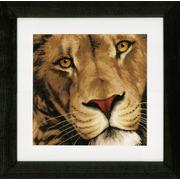 """Набор для вышивания крестом LANARTE """"Царь животных"""""""
