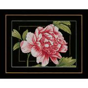 """Набор для вышивания крестом LANARTE """"Розовая роза"""""""