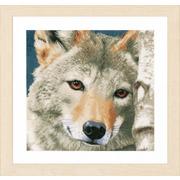 """Набор для вышивания крестом LANARTE """"Волк"""""""