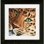 """Набор для вышивания крестом LANARTE """"Леопард"""""""