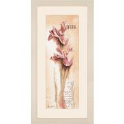 """Набор для вышивания крестом LANARTE """"Ирис-ботанический"""""""