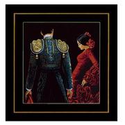 """Набор для вышивания крестом LANARTE """"Танцевальная страсть"""""""