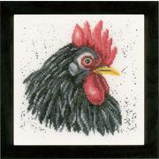 """Набор для вышивания крестом LANARTE """"Черная курица"""""""
