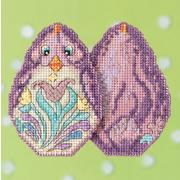"""Набор для вышивания MILL HILL """"Фиолетовый цыпленок"""""""