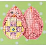 """Набор для вышивания MILL HILL """"Розовый цыпленок"""""""