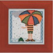 """Набор для вышивания MILL HILL """"Дождливый день"""""""