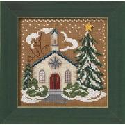 """Набор для вышивания MILL HILL """"Деревенская церковь"""""""
