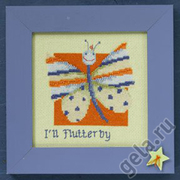 "Набор для вышивания MILL HILL ""Бабочка"""