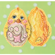 "Набор для вышивания MILL HILL ""Желтый цыпленок"""