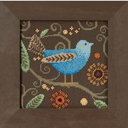 "Набор для вышивания MILL HILL ""Синяя птица"""