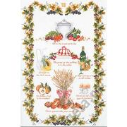 """Набор для вышивания крестом Thea Gouverneur """"Кухня Sampler"""""""