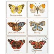 """Набор для вышивания крестом Thea Gouverneur """"Бабочки"""""""