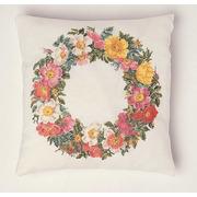 """Набор для вышивания крестом Thea Gouverneur подушки """"Розы"""""""