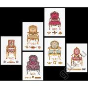 """Набор для вышивания крестом Thea Gouverneur """"Шесть стульев"""""""