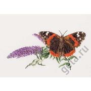 """Набор для вышивания крестом Thea Gouverneur """"Бабочка-Buddleia"""""""