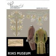 "Набор для вышивания крестом Thea Gouverneur ""Музей Rijks ""habit à la française c. 1775-1785"""""