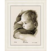 """Набор для вышивания крестом Vervaco """"Объятия ребёнка"""""""